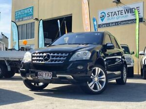 2010 Mercedes-Benz ML350 W164 09 Upgrade 4x4 Black 7 Speed Automatic G-Tronic Wagon East Brisbane Brisbane South East Preview