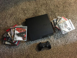 320GB PS3 for sale with 11 games