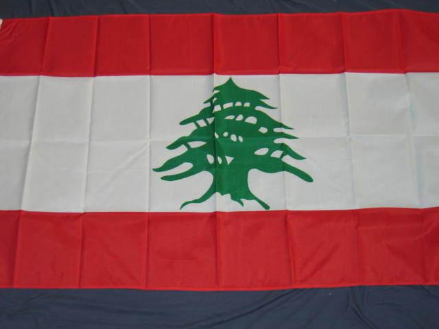 NEW 3X5 LEBANON FLAG 3