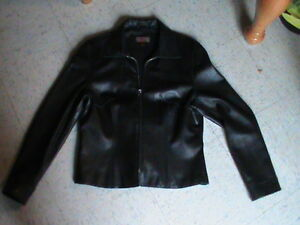 large womens leather  casual jacket Danier