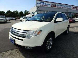 2007 Ford Edge SEL LIMITED AWD PANORAMIC ROOF DUAL DVD BLUETOOTH