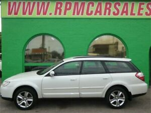 2006 Subaru Outback MY07 2.5i AWD Pearl White 4 Speed Auto Elec Sportshift Wagon Nailsworth Prospect Area Preview