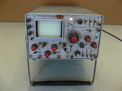 Tektronix Type 454 150 Mhz Two-channel Portable Analog Oscilloscope