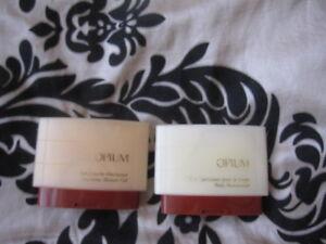 YSL Opium Body Moisturizer & Shower Gel 50ml -Vintage Rare!