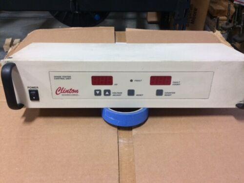 Clinton Instrument High Frequency AC Spark Tester Model HF-15AR