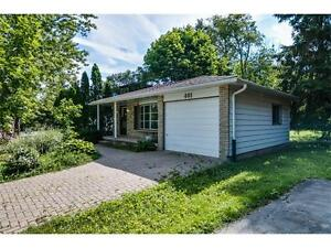 A classic but upgraded home with privacy $399,900