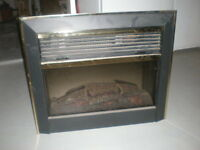 Electric Fireplace Insert With Heat And Flame