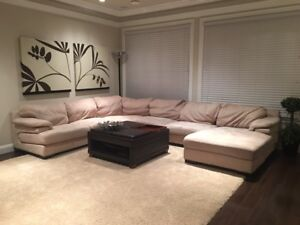 Moving out sale!!! Great deal on couch and coffee table!!!