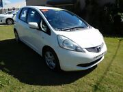 2010 Honda Jazz GE MY10 GLi White 5 Speed Automatic Hatchback Ballina Ballina Area Preview