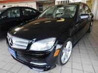 2011 Mercedes-Benz C-Class C350 4 MATIC AMG PACKAGE WITH NAVI