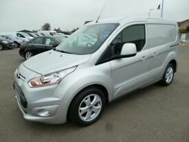 2016 Ford Transit Connect 1.6TDCI 200 LIMITED P/V L1 115ps Diesel silver Manual