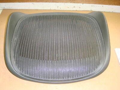 Herman Miller Aeron Seat Pan - Size B - Graphite Frame - Standard Black Fabric