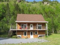 Log Home in Hampton, NB for Rent - as of Oct 1