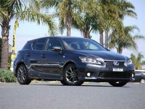 2011 Lexus CT ZWA10R CT200h F Sport Grey 1 Speed Constant Variable Hatchback Hybrid Cheltenham Kingston Area Preview