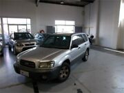 2004 Subaru Forester MY04 XS Silver 4 Speed Automatic Wagon Fyshwick South Canberra Preview