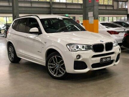 2016 BMW X3 F25 LCI xDrive20d Wagon 5dr Steptronic 8sp 4x4 2.0DT White Automatic Wagon