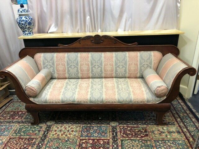 Victorian Empire Style Couch 1940s