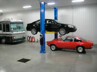 Enclosed Indoor Heated and Non Heated Storage for vehicles