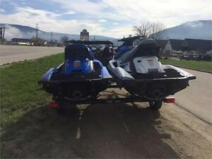 PACKAGED DEAL ON TWO WAVERUNNERS AND TRAILER