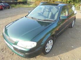 Mazda 323 2.0 LXI. DIESEL, FULL SERVICE HISTORY. (green) 2000