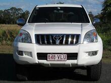 2003 Toyota Landcruiser Prado GRJ120R GXL White 4 Speed Automatic Wagon Stapylton Gold Coast North Preview