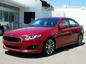 2015 Ford Falcon FG X XR6 Red 6 Speed Sports Automatic Sedan Garbutt Townsville City Preview