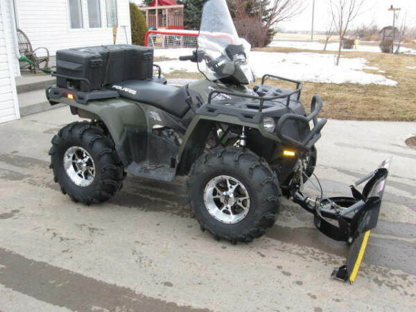 Used 2011 Polaris Sportsman 800 HO EFI