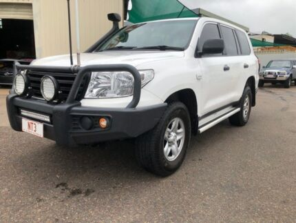 2015 Toyota Landcruiser VDJ200R MY13 GX (4x4) White 6 Speed Automatic Wagon Berrimah Darwin City Preview