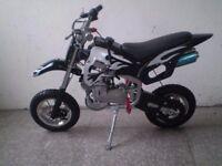 50cc Dirt Bike & 200cc Quad