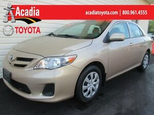2012 Toyota Corolla CE with Heated Seats, Bluetooth & More!