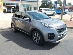 2017 Kia Sportage GT Line Grey Automatic Wagon Young Young Area Preview