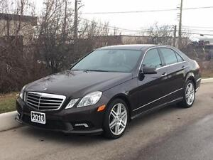 2010 Mercedes-Benz E550 4Matic AMG Pkg LANE ASSIST *SPECIAL*