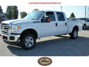 2011 Ford F-250 XLT Crew Cab 4x4 Car Proof Verified