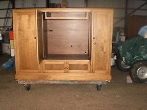 """ BIRCH ""  ENTERTAINMENT UNIT/ WALL CABINET Windsor Region Ontario image 3"