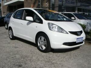 2008 Honda Jazz MY06 GLi White Continuous Variable Hatchback Wangara Wanneroo Area Preview
