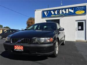 2002 Volvo S60 2.4L | HEATED SEATS | AUTO CLIMATE | LEATHER