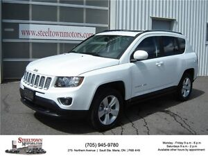 2015 Jeep Compass 4x4 High Altitude|Heated Leather|Sunroof|