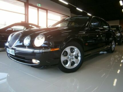 2000 Jaguar S-Type MY01 V8 SE Black 5 Speed Automatic Sedan Frankston Frankston Area Preview
