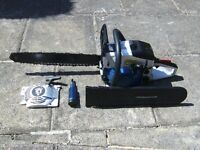 Black & Decker petrol chain saw