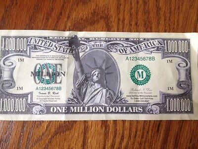 Thanks a Million Dollar Bills - 100 bill Pack - Fake Play Novelty Money - Play Money 100 Dollar Bills