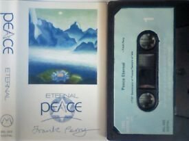 FRANK PERRY ETERNAL PEACE PRERECORDED CASSETTE TAPES. BEL 003. 1989. Other 'Peace' series tapes av.
