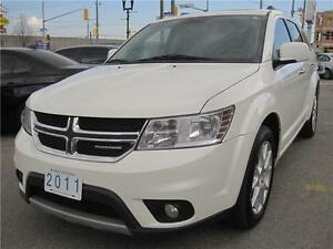 2011 Dodge Journey R/T | AWD | LEATHER | 7 PASS | V6 | ROOF |