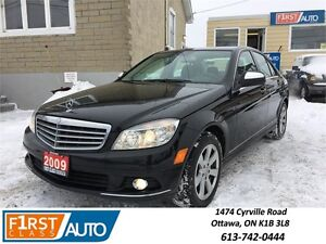 2009 Mercedes-Benz C-Class 4 Matic - NO ACCIDENTS! - So Clean!