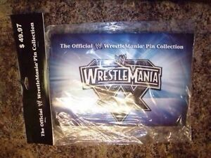**NEW** Offcial WWE WrestleMania 20th Anniversary Pin Belt set Cambridge Kitchener Area image 1