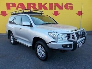2009 Toyota Landcruiser VDJ200R GXL Silver 6 Speed Sports Automatic Wagon Winnellie Darwin City Preview