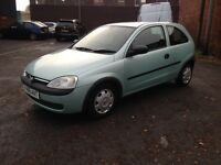 2001 VAUXHALL CORSA 1.0 3cylinder - LOW INSURANCE GROUP - IDEAL FIRST CAR