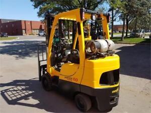 Forklift Propane Hyster (LPG) 6000 lbs 2011