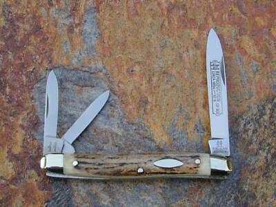 KLAAS KISSING CRANE STAG WHITTLER KNIFE RARE 1/600 SOLINGEN NM 1894 REPROD #6