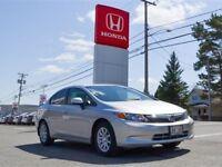 2012 Honda Civic SE Alloy Wheels, Tinted Windows, Spoiler, $59/w