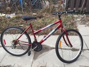 18-speed mountain bike